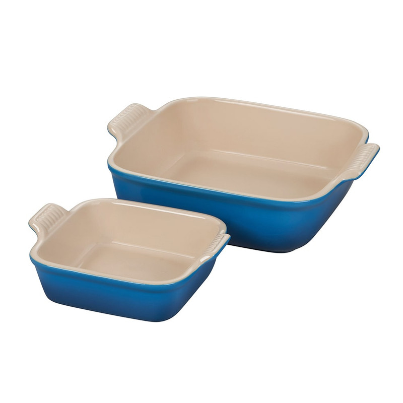 Le Creuset Heritage Square Baking Dish Set in Marseille