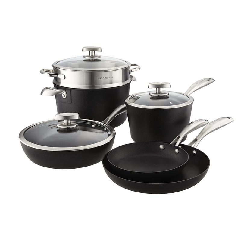 Scanpan PRO IQ 9-Piece Cookware Set