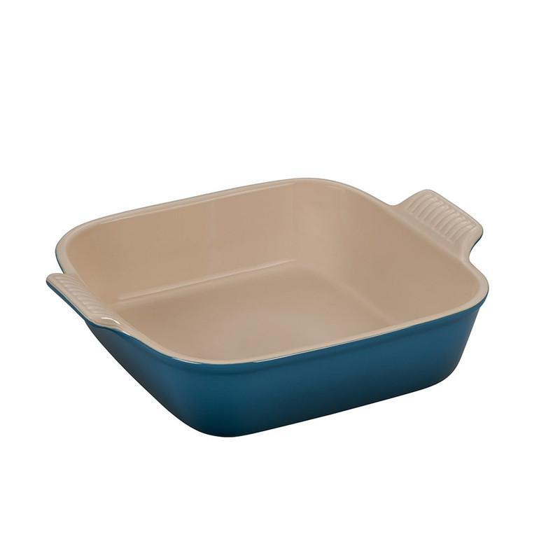 Le Creuset Heritage Square Dish in Deep Teal