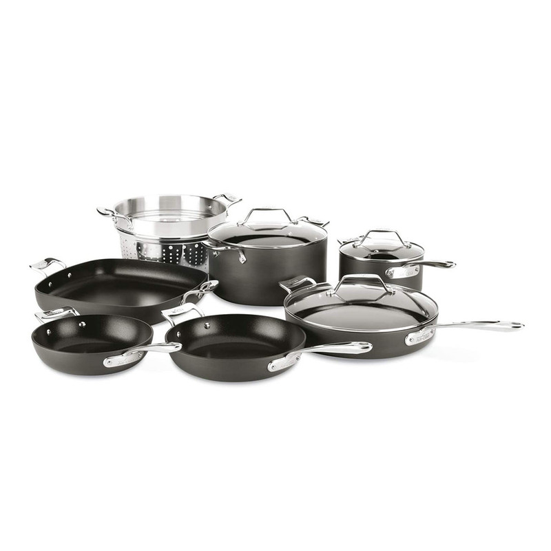 All-Clad Essentials Nonstick 10-Piece Cookware Set