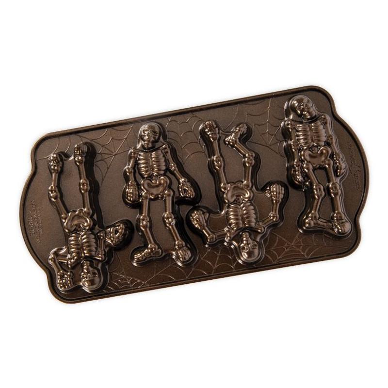 Nordic Ware Spooky Skeleton Cakelet Pan