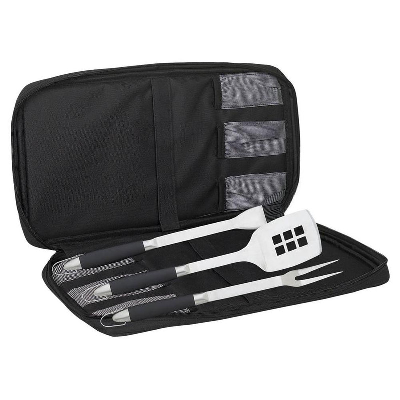 Messermeister 4-Piece Travel Barbecue Set