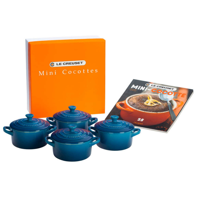Le Creuset Mini Cocottes in Marseille With Cookbook