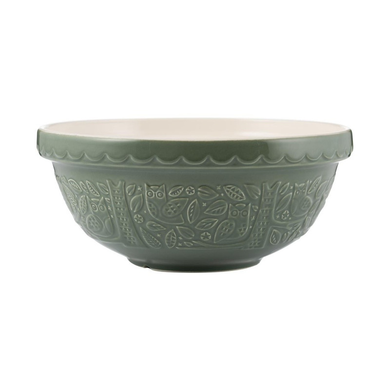 Mason Cash In the Forest Green Mixing Bowl