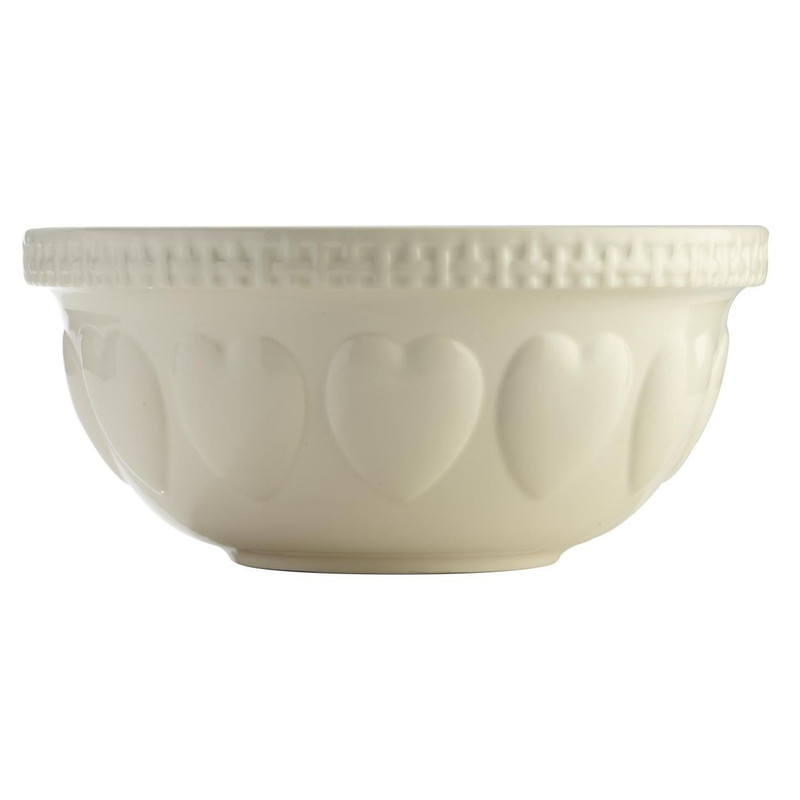 Mason Cash Hearts Cream Mixing Bowl