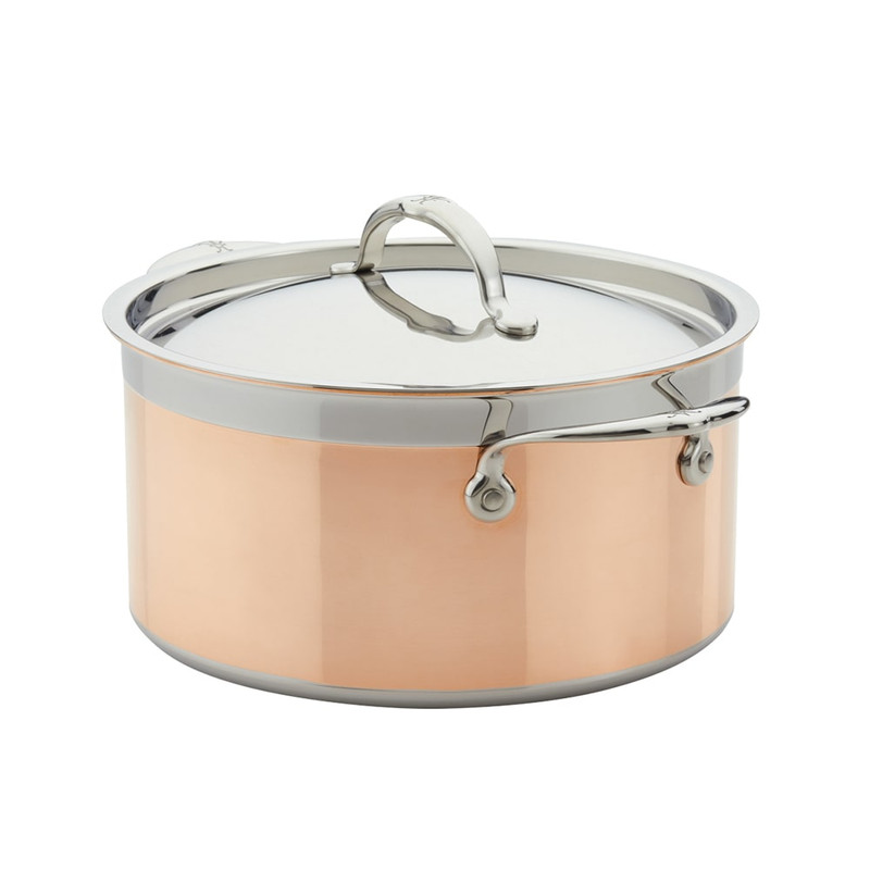 Hestan CopperBond Covered Stock Pot