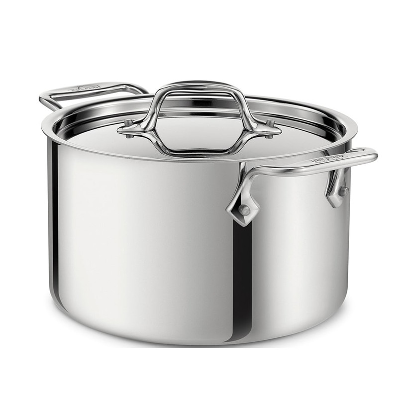 All-Clad D3 Stainless Steel Casserole With Lid