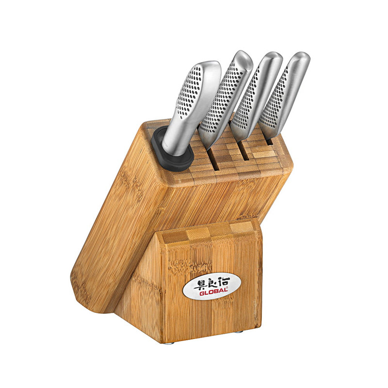 Global Classic 5-Piece Masuta Knife Block Set