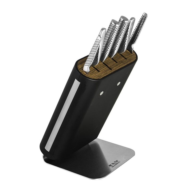 Global Classic 7-Piece Hiro Knife Block Set