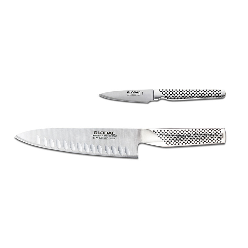 Global Classic 2-Piece Kitchen Knife Set