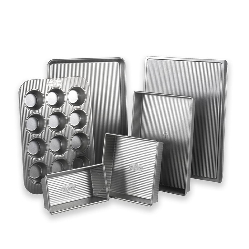 USA Pan Six Piece Bakeware Set