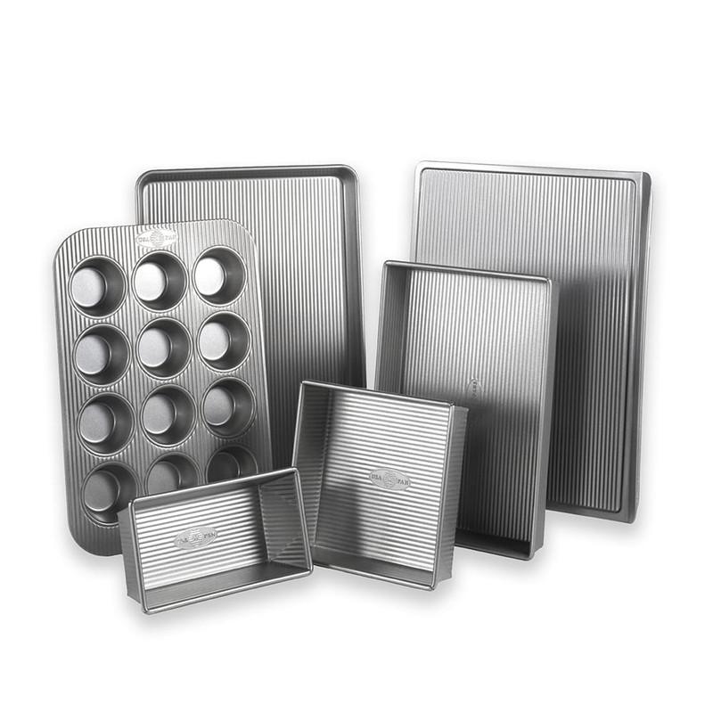 USA Pan Six Piece Bakeware Set