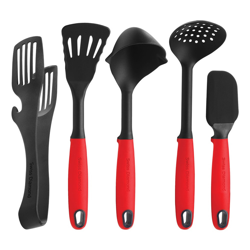 Swiss Diamond 5-Piece Kitchen Tool Set