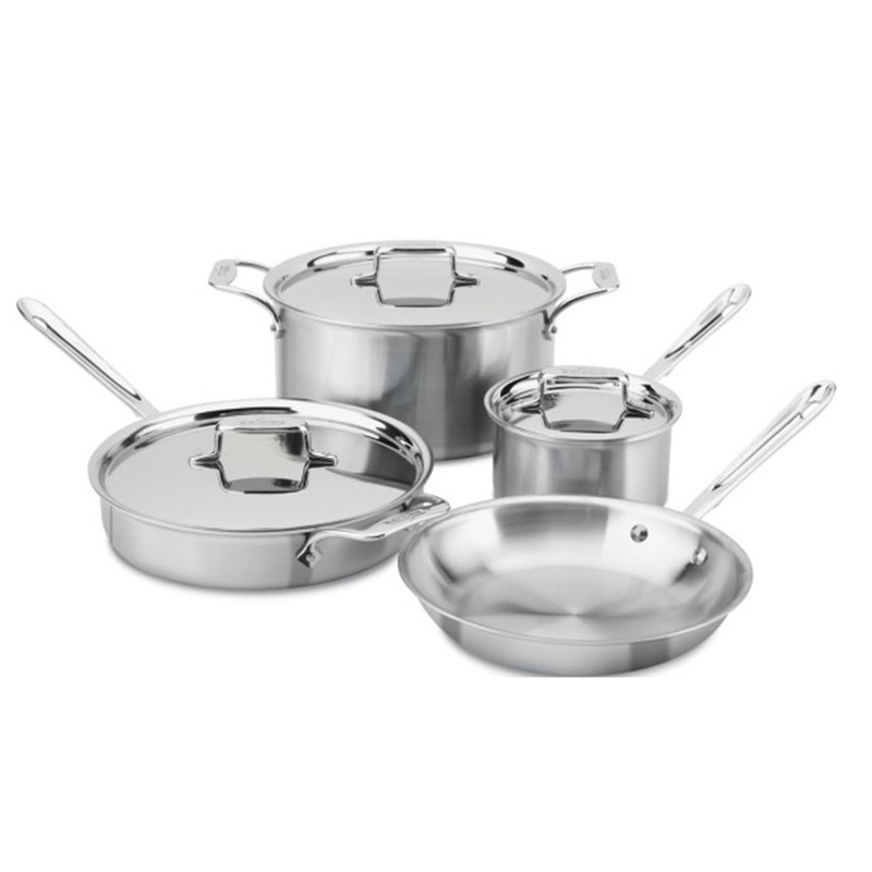 All-Clad d5 7-Piece Cookware Set
