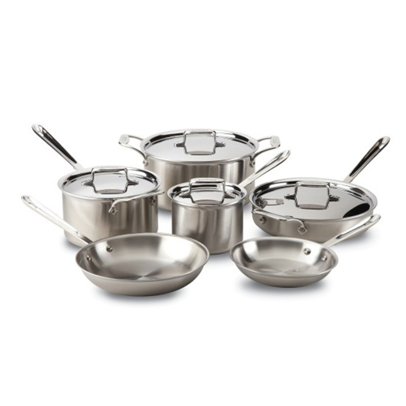 All-Clad d5 10-Piece Cookware Set