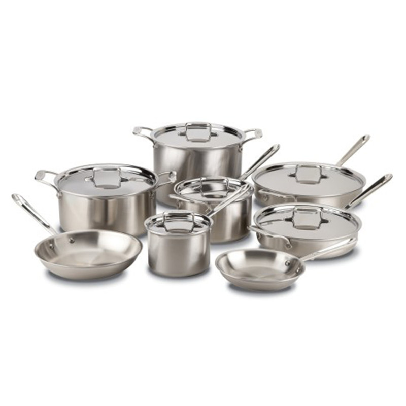 All-Clad d5 14-Piece Cookware Set