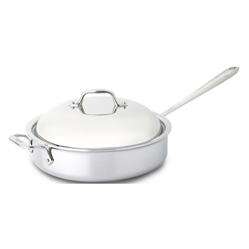 All-Clad Stainless Steel Saute Pan With Domed Lid