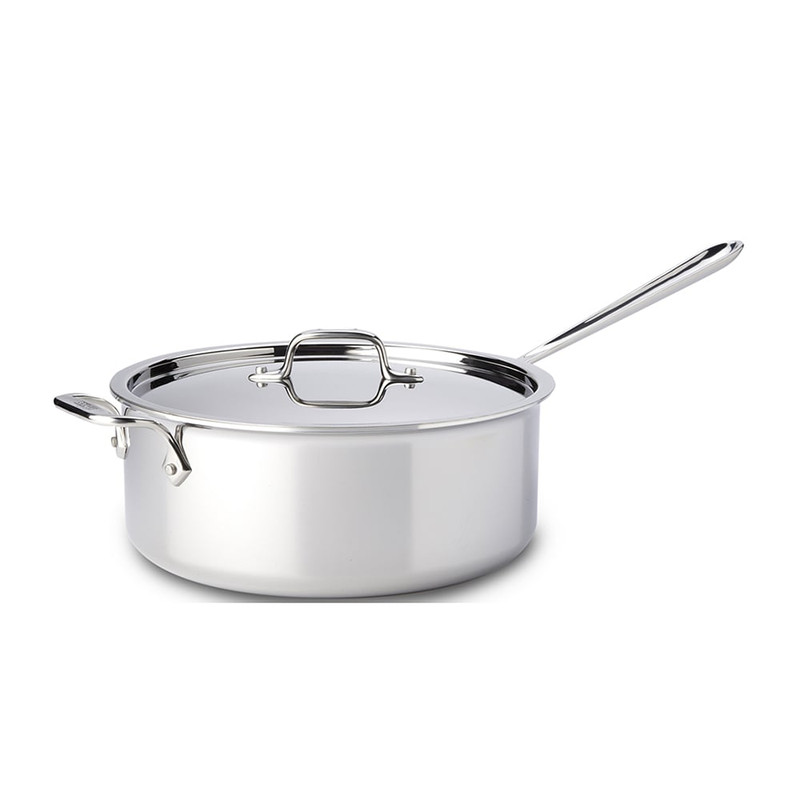 All-Clad Stainless Steel Deep Saute Pan