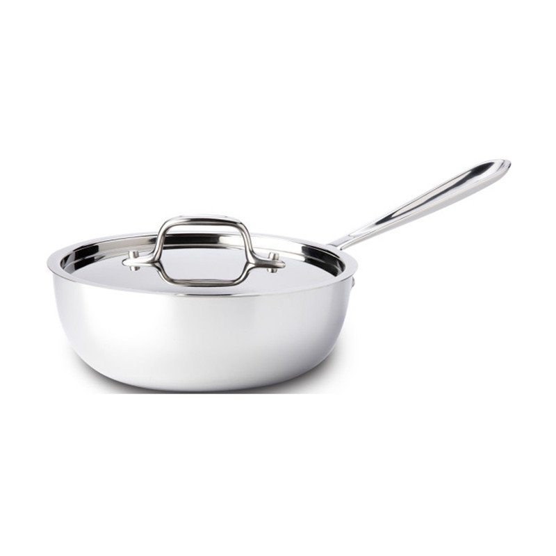All-Clad Stainless Steel 2-Quart Saucier