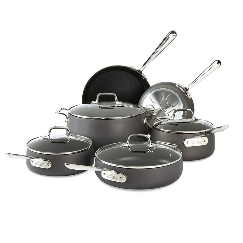 All-Clad HA1 10-Piece Cookware Set