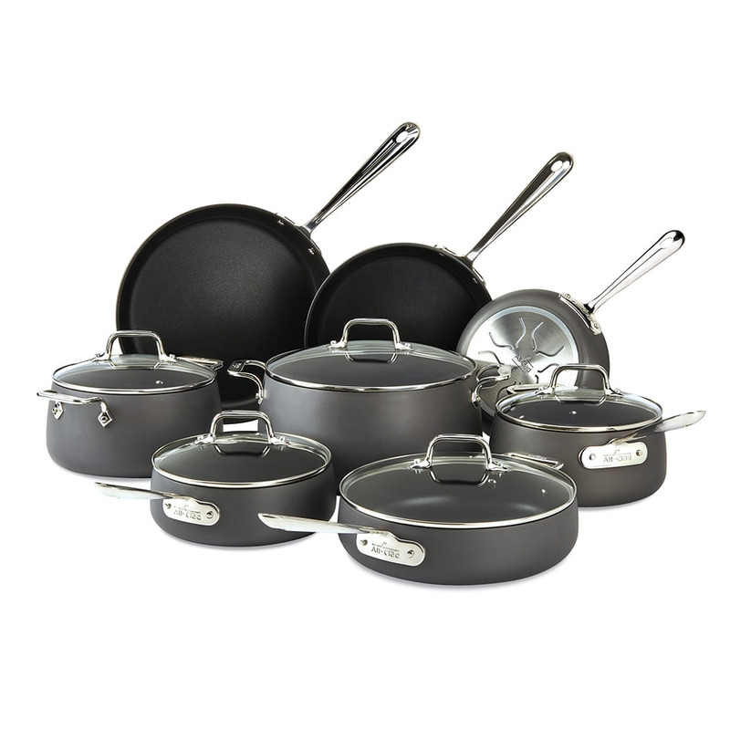 All-Clad HA1 13-Piece Cookware Set
