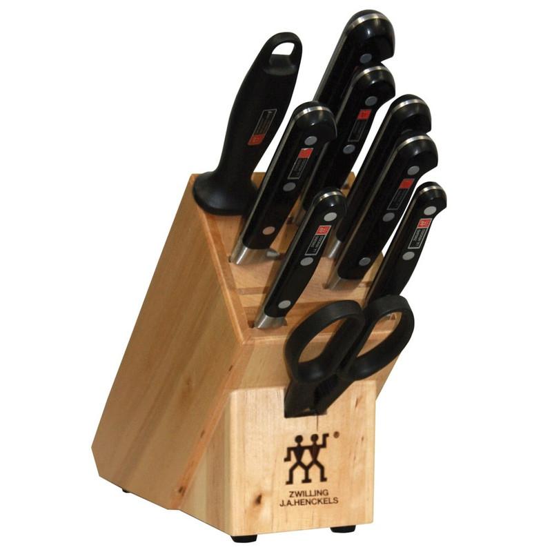 Zwilling J.A. Henckels Professional S 10-Piece Knife Block Set