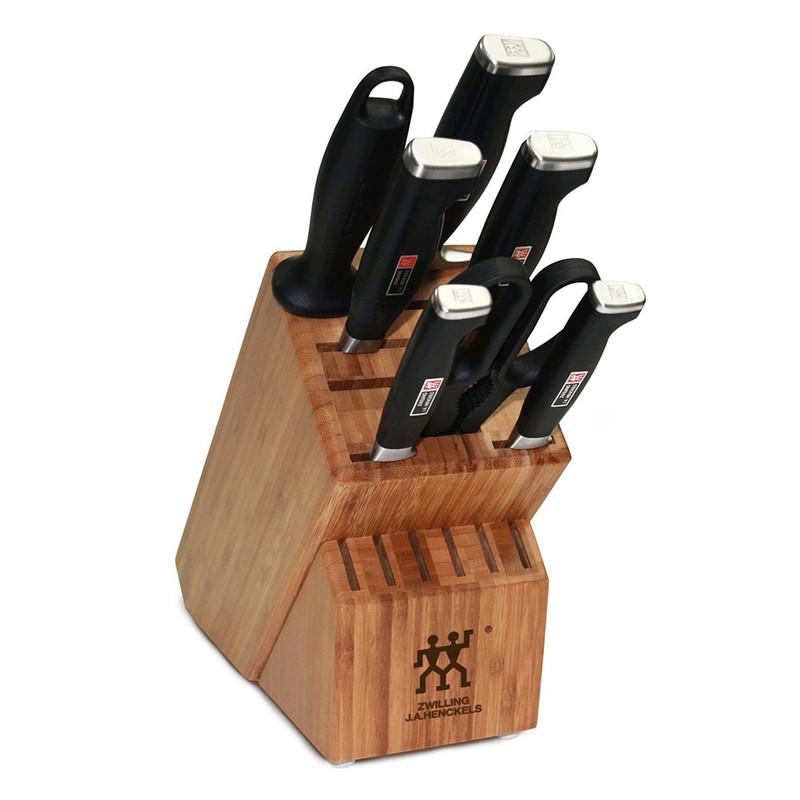 Zwilling J.A. Henckels Twin Four Star II 8-Piece Knife Block Set