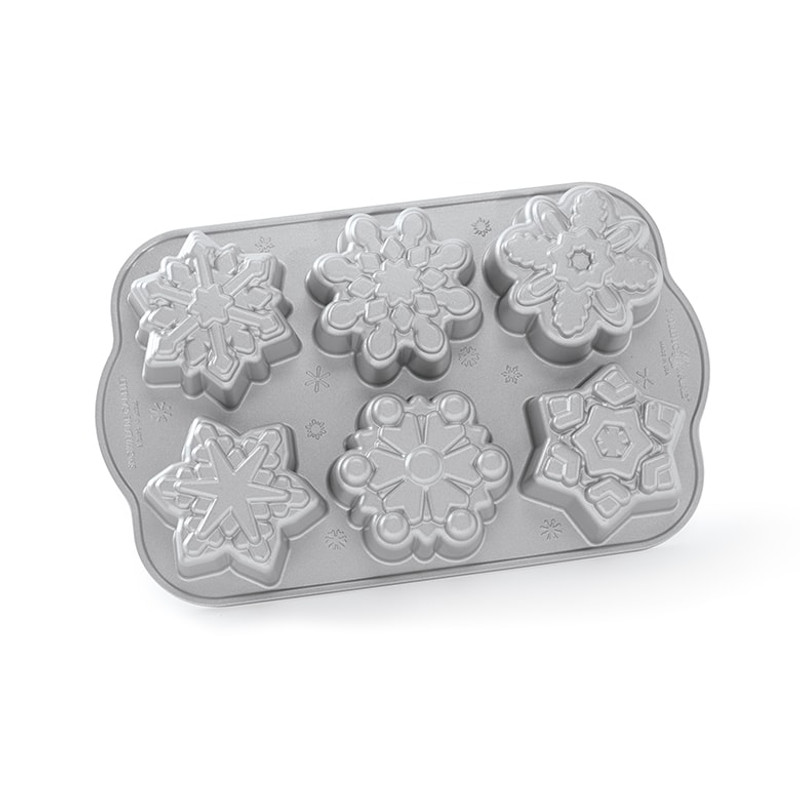 Nordic Ware Frozen Snowflake Cakelet Pan