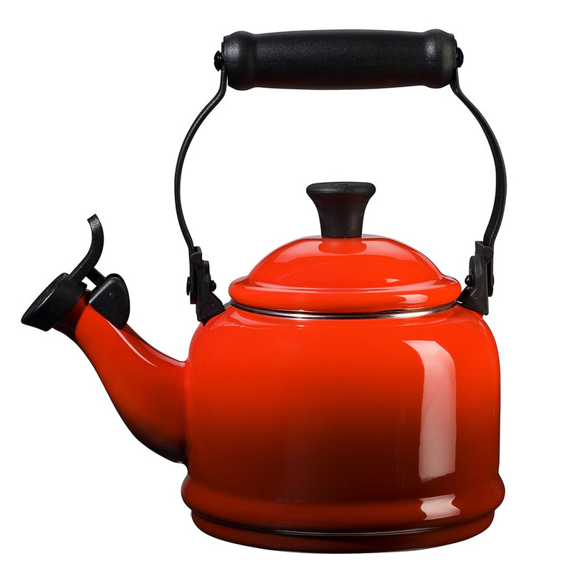 Le Creuset Demi Kettle in Cerise Red