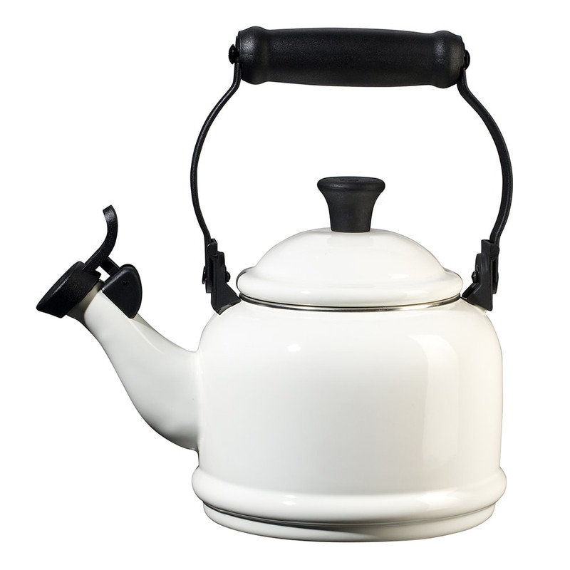 Le Creuset Demi Kettle in White