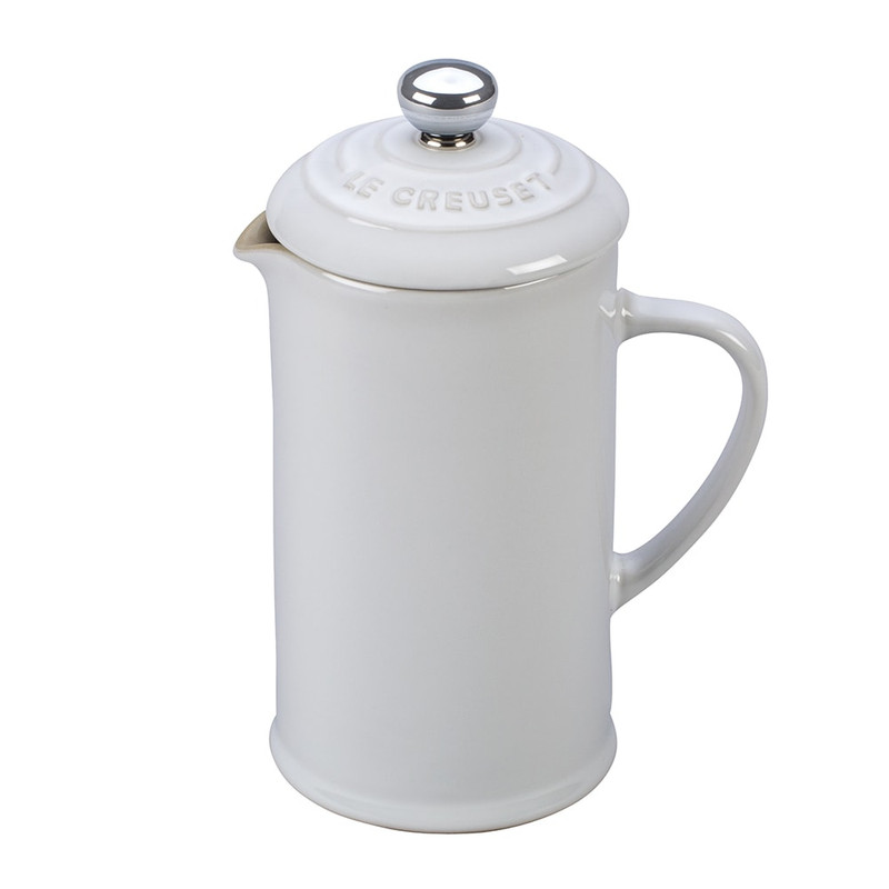 Le Creuset French Press in White