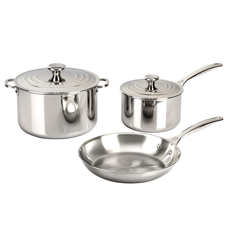 Le Creuset 5-Piece Stainless Steel Set