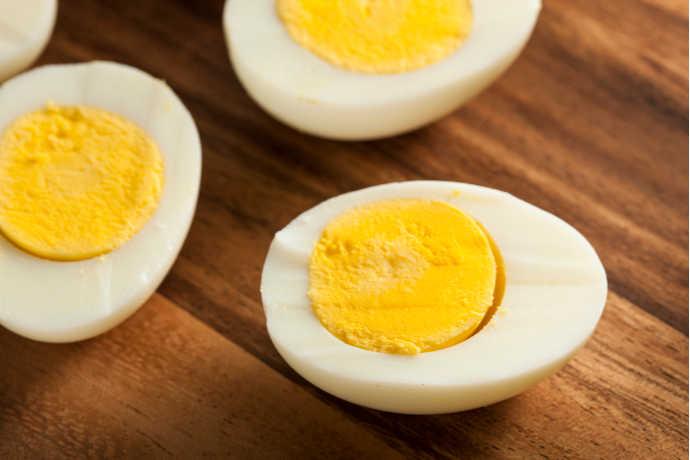 Hard Boiled Eggs Made Easy