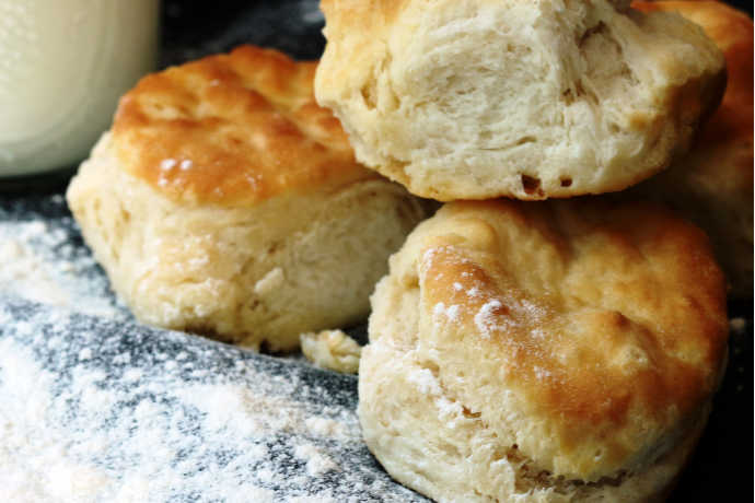 Homemade Biscuits: Hot, Flaky and Delicious
