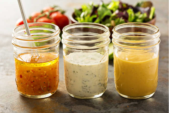 Dress Up Your Greens With Homemade Salad Dressing