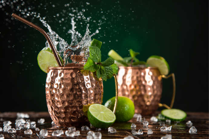 Celebrate Summer With Moscow Mules