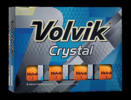 Volvik Crystal ORANGE DOZEN