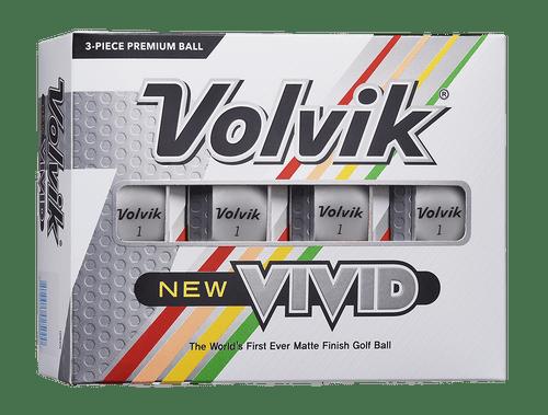 Volvik Vivid WHITE Dozen