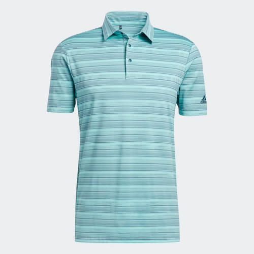Adidas Men's Heathered Snap Polo