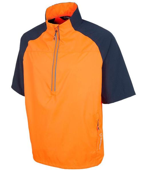 Sunice Winston Unlined Half Zip Short Sleeve Windshirt