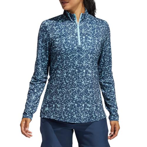 Adidas Womens Aero RDY Long Sleeve Polo