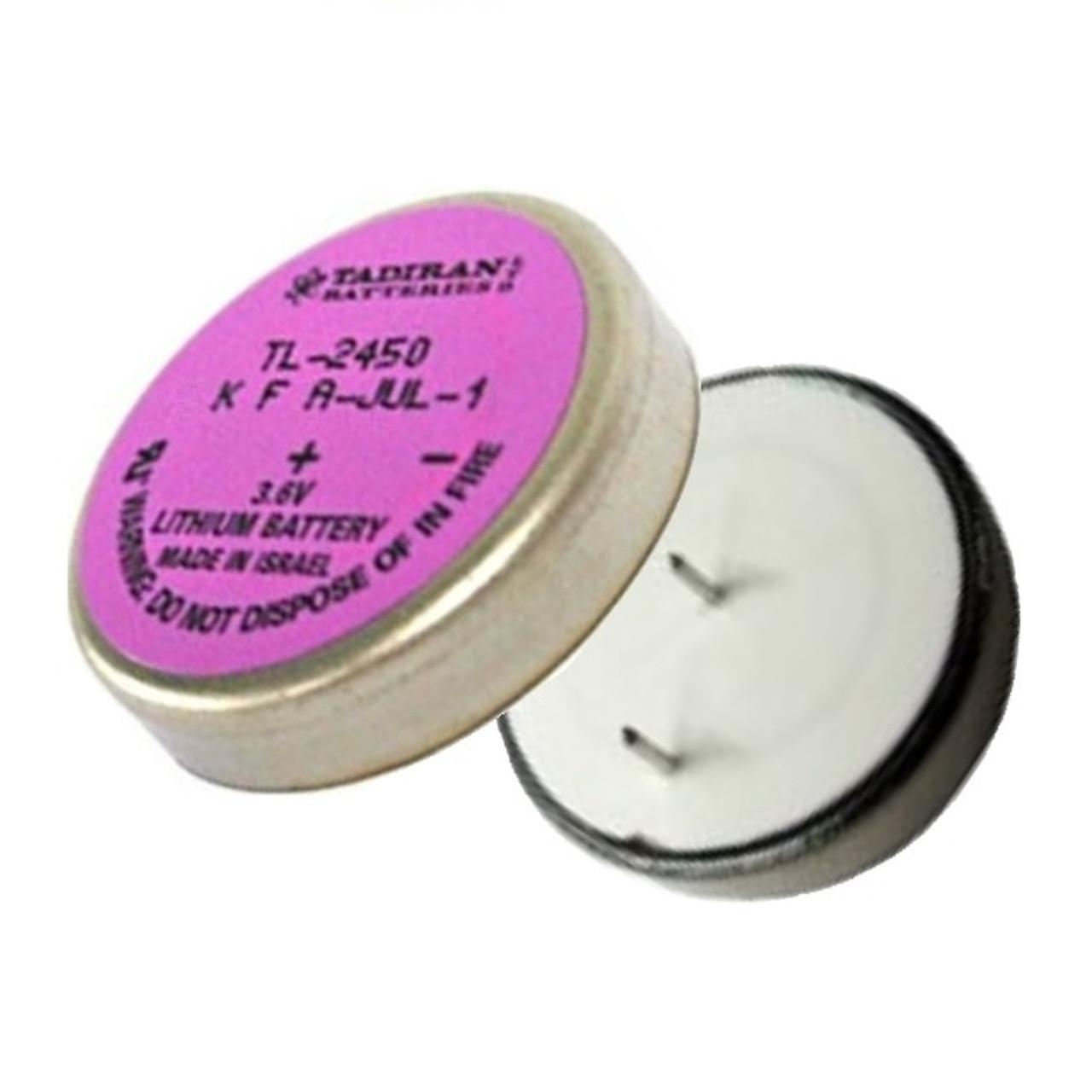 Tadiran TL-2450 / TL-5186 3.6 Volt, 550 mAh Wafer Cell Battery