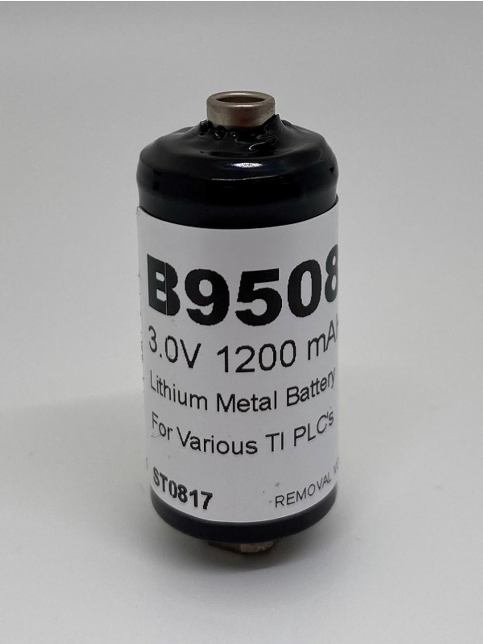 Texas Instruments B9508, 3.0 Volt, 1.2Ah Replacement PLC Battery