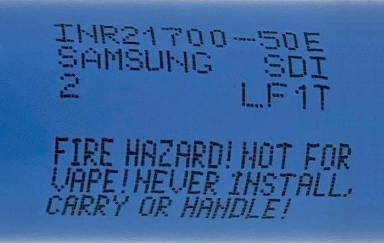 Samsung SDI INR21700-50E