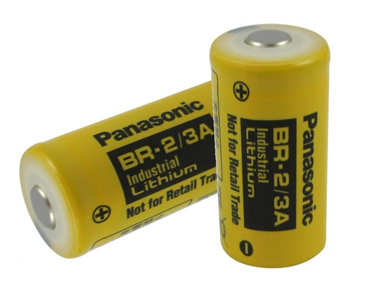 Panasonic BR-2/3ASSPN, BR-2/3A 3 Volt 1200mAh Lithium Battery