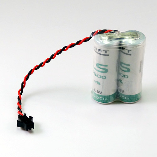 BAT06, 3.6 Volt, 7200 mAh  Nachi Robotic Replacement PLC Battery