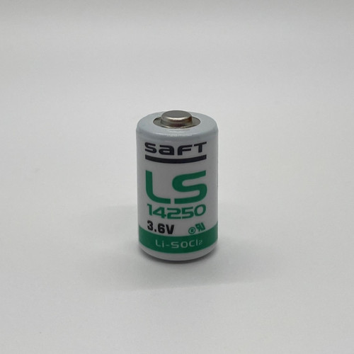Saft LS14250 - 3.6 Volt Primary Lithium 1/2 AA Battery - Saft # 700053