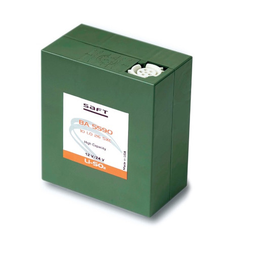Saft BA-5590 B/U, 15 or 30 Volt Primary Lithium A Battery - Saft # 37261024