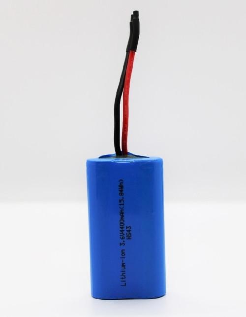StorTronics ST-1S2P 3.6 Volt, 4.4 Ah (15.84Wh) 18650 Li-ion Battery Pack