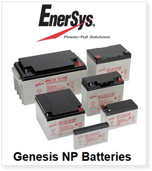 Enersys Genesis NP7-12 12 Volt 7 Amp Hour Battery